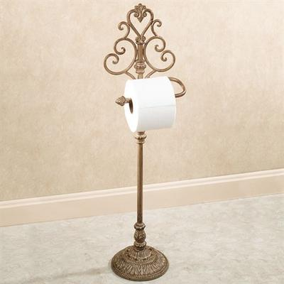 Aldabella Toilet Paper Stand , Tuscan Slate