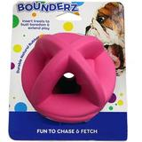 Smart Pet Love Bounderz Rubber Ball Dog Toy, 3.5-in, Pink