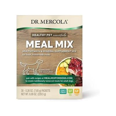 Dr. Mercola Meal Mix Multivitamin & Mineral Dog Supplement, 30 count