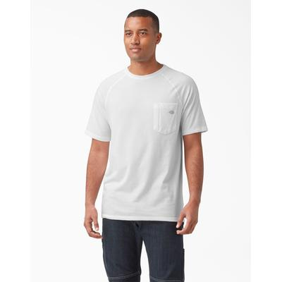 Dickies Men's Temp-Iq™ Performance Cooling T-Shirt - White Size 2 (SS600)