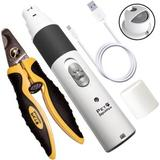 Pet Republique Cordless Dog & Cat Nail Grinder & Nail Clippers