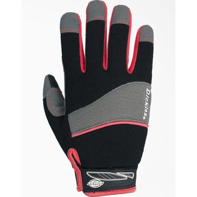 Dickies Women's Mechanics Gloves - Charcoal Gray Size L (L10220)