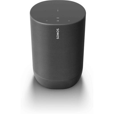 Sonos Move - Battery-powered Smart Speaker, Wi-Fi and Bluetooth with Alexa built-in - Black
