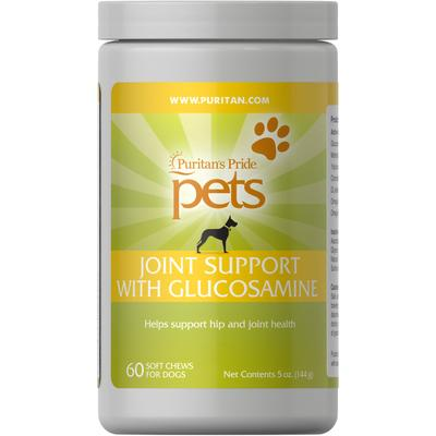 Puritan's Pride Pets Joint Support for Dogs-60 Chews