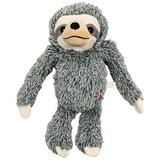 Ethical Pet Fun Sloth Squeaky Plush Dog Toy, Color Varies, 13-in
