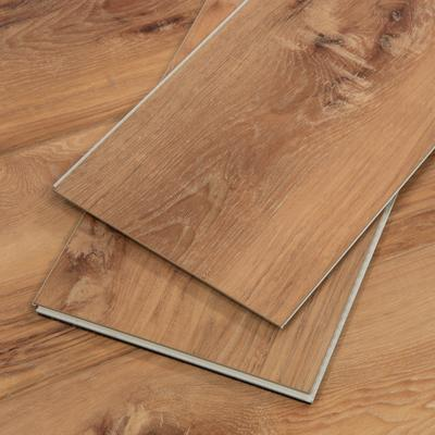 Vinyl Flooring with Attached Pad Sample