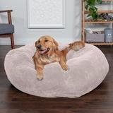 FurHaven Plush Ball Pillow Dog Bed w/Removable Cover, Shell, X-Large