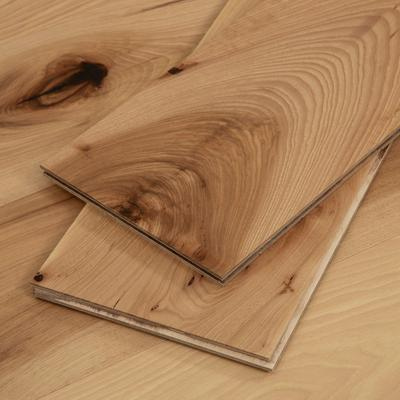 Light Hickory Wood Flooring Sample