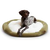 Happy Hounds Marley Donut Dog Bed, Moss, Large