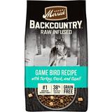 Merrick Backcountry Raw Infused Grain Free Dry Dog Food Game Bird Recipe, 10-lb bag