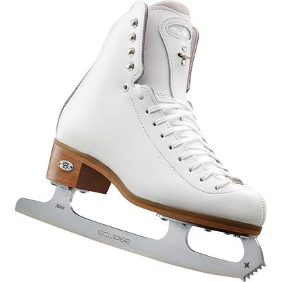 Riedell Motion Ladies Figure Skates with Eclipse Astra Blades White
