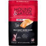 Hound & Gatos Grain-Free Salmon Recipe Dry Cat Food, 2-lb bag