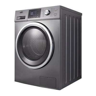"""Summit SPWD2203P 24""""W Front Load Washer/Dryer Combo - Platinum, 115v"""