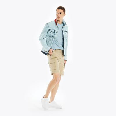Nautica Men's Performance Navigator Cargo Shorts Beachsand, 30W