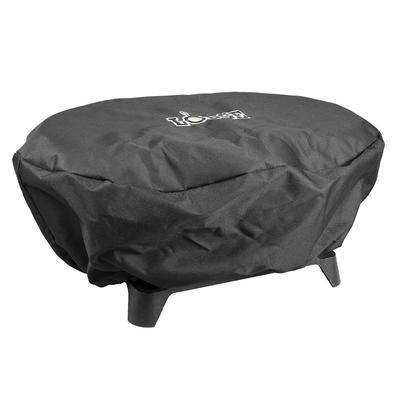 Lodge AT-410 Sportsman's Grill Cover for L410 - Polyester, Black