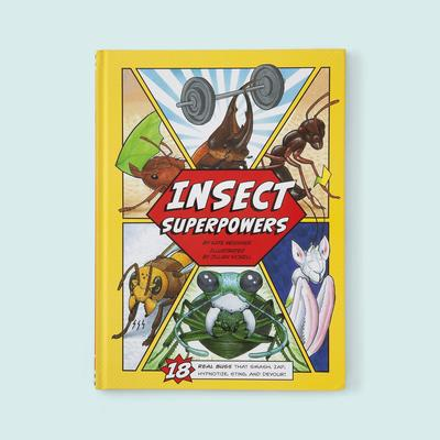 Real Insect Superpowers Comic Book