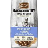 Merrick Backcountry Raw Infused Dry Puppy Food Recipe With Healthy Grains, 4-lb bag