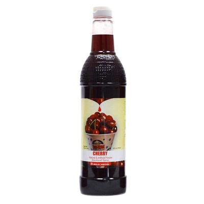 Gold Medal 1423 25 oz Cherry Snow Cone Syrup, Ready-To-Use