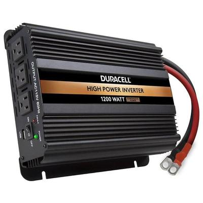 Duracell 76522 - DURACELL HIGH POWER INVERTER, WATTS: 1200