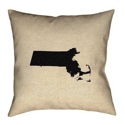 Ivy Bronxivy Bronx Mendell Maine State Flag Pillow In Faux Suede Double Sided Print Throw Pillow Polyester Polyfill Leather Suede In Brown Blue Wayfair Dailymail