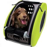 ibiyaya - ibiyaya 5-in-1 Combo EVA Airline-Approved Dog & Cat Carrier & Stroller, Green