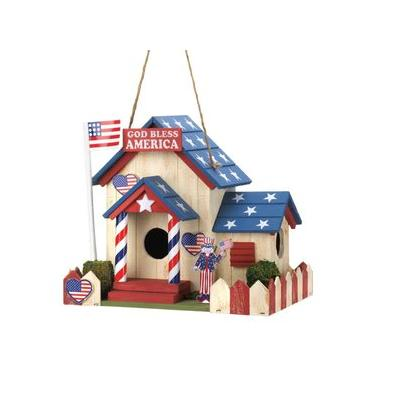 Zingz & Thingz Patriotic Bird House