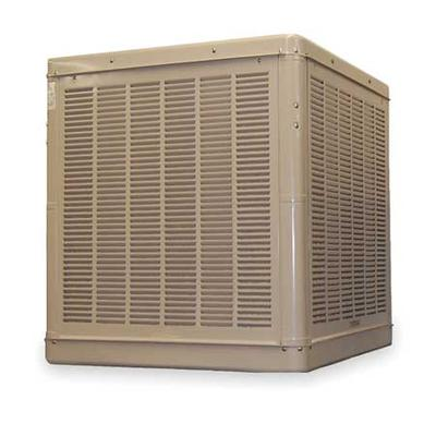 ESSICK AIR 2YAD9-2HTL4 Ducted Evaporative Cooler with Motor 6500 cfm, 1600 sq.