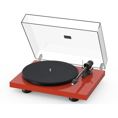 Project Debut Carbon EVO Gls Red turntable w.Sumiko Rainier