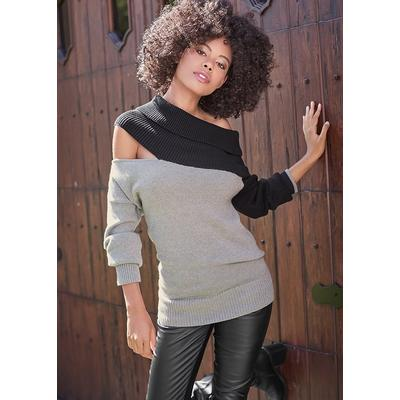 One Shoulder Sweater Sweaters - ...