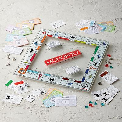Monopoly Glass Edition Game - Frontgate