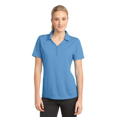 Sport-Tek LST680 Women's PosiCharge Micro-Mesh Polo Shirt in Carolina Blue size 3XL | Polyester