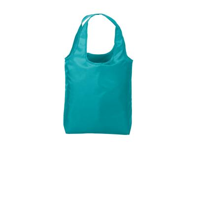 Port Authority BG416 Ultra-Core Shopper Tote Bag in Turquoise size OSFA | Polyester Blend