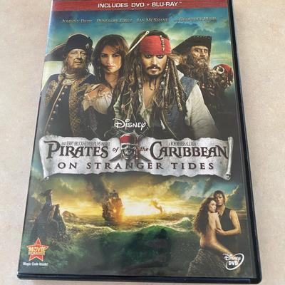 Disney Other | Pirates Of The Caribbean On Stranger Tides | Color: black | Size: Dvd & Blu-Ray