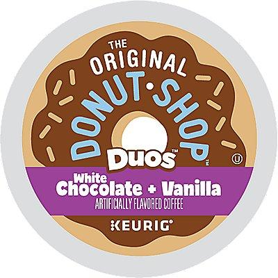 72 Ct The Original Donut Shop White Chocolate And Vanilla Coffee (3 Boxes Of 24) K-Cup® Pods. Coffee