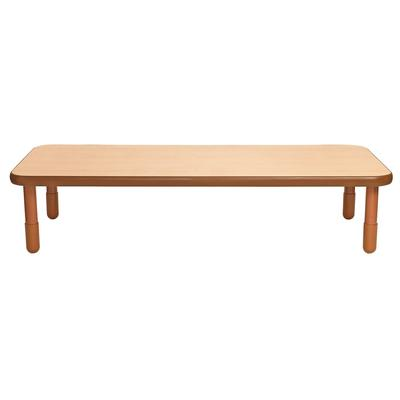 """""""BaseLine 72"""""""" x 30"""""""" Rectangular Table - Natural Wood with 16"""""""" Legs - Children's Factory AB747RNW16"""""""