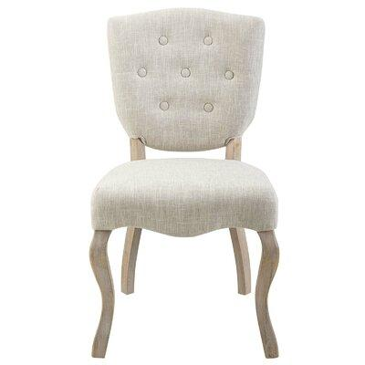 Ophelia Co Damarion Tufted Upholstered Side Dining Chair Fabric Upholstered In Beige Gray White Size 24 5 L X 20 W X 36 H Wayfair Sportspyder