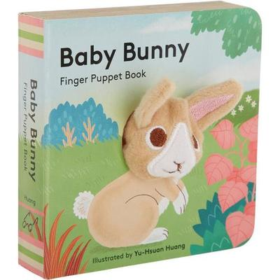 Chronicle Baby Bunny Finger Puppet Book