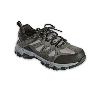 Men's Skechers Selmen Enago Leather Shoes, Grey 8 M Medium