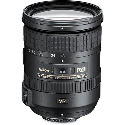Nikon AF-S 18-200mm f/3.5-5.6G ED VR II uses 72mm filter on Sale