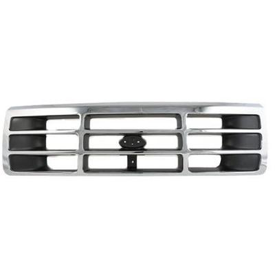 1992-1996 Ford F150 Grille Assembly - Action Crash FO1200173PP