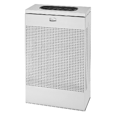 Rubbermaid FGSR14SSPL 13 gal Indoor Decorative Trash Can - Metal, Stainless Steel on Sale
