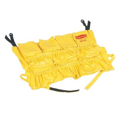Rubbermaid FG264200YEL 20 Round BRUTE Caddy Bag - Yellow on Sale