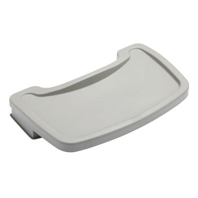 Rubbermaid FG781588PLAT Tray for Sturdy Chair Youth Seat, Platinum on Sale