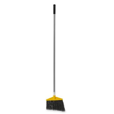 Rubbermaid FG638500GRAY 56L BRUTE Lobby Broom w/ Angle Bristles & Gray Handle on Sale