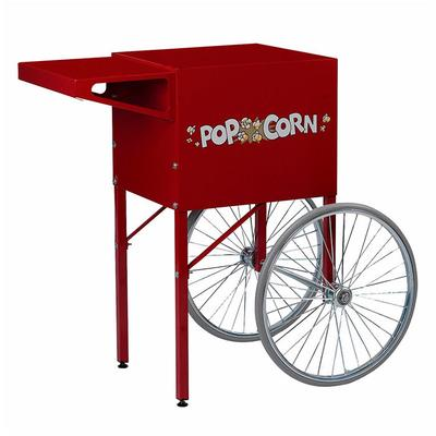 Gold Medal 2669CR Ultra 60 Special Cart w/ Storage Compartment & 2 Spoke Wheels, Red on Sale