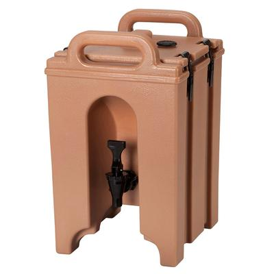 Cambro 100LCD157 1.5 gal Camtainer Insulated Beverage Dispenser, Coffee Beige on Sale