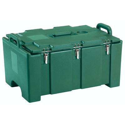 Cambro 100MPC519 Camcarriers Insulated Food Carrier - 40 qt w/ (1) Pan Capacity, Green on Sale