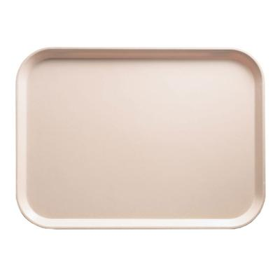 Cambro 1014106 Fiberglass Camtray Cafeteria Tray - 13.75L x 10.6W, Light Peach on Sale