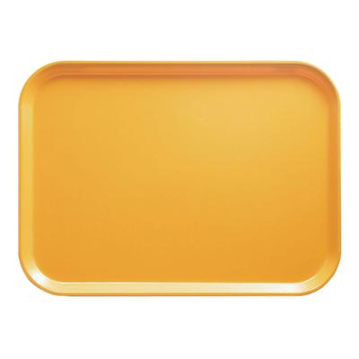 Cambro 1014171 Fiberglass Camtray Cafeteria Tray - 13.75L x 10.6W, Tuscan Gold on Sale