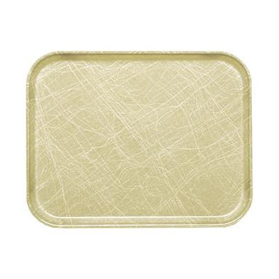 Cambro 1216214 Fiberglass Camtray Cafeteria Tray - 16.3L x 12W, Abstract Tan on Sale